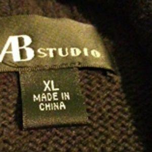 A knit sweater